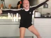 This Girl Has Got Some Serious Moves!