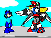 Mega Man and the Pompous Robots