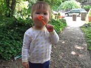 Ruby Blows Bubbles