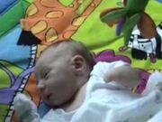 Baby Aidan on Playmat